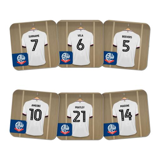 Bolton Wanderers FC Dressing Room Coasters