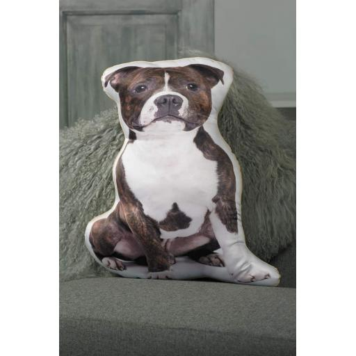 Staffy Shaped Cushion Perfect Gift For Dog Lovers