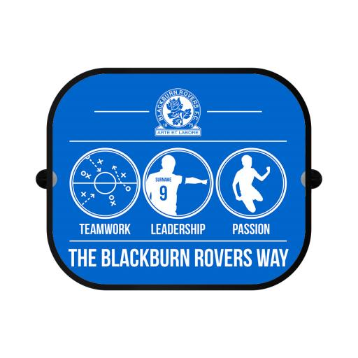 Blackburn Rovers FC Way Car Sunshade