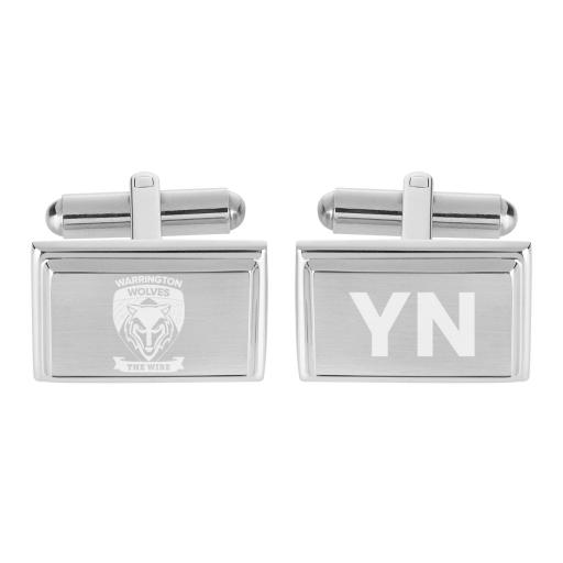 Warrington Wolves Crest Cufflinks