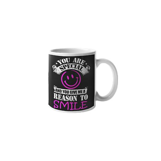 You Are Special Reason Why I Smile 11 oz Mug Ceramic Novelty Design Friend Gift