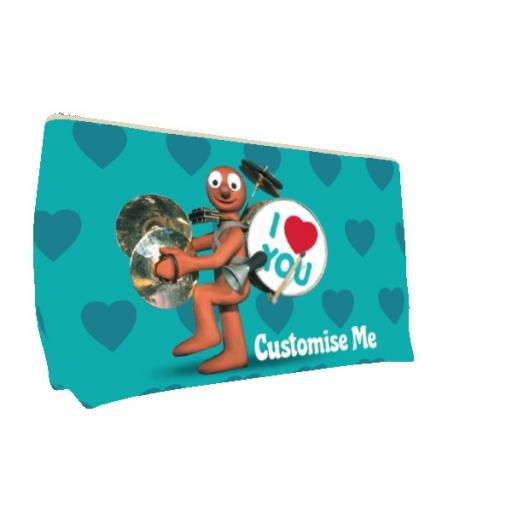 Aardman Morph 'I Love You' Medium Wash Bag