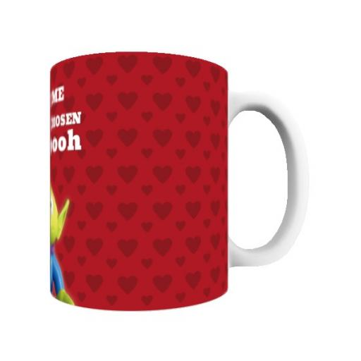 Disney Toy Story Valentines Alien You Have Been Chosen Mug