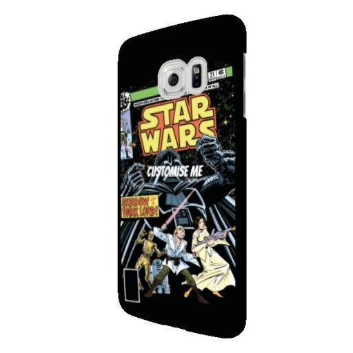 Star Wars Classic Comic Print Samsung Galaxy S6 Edge Clip Case