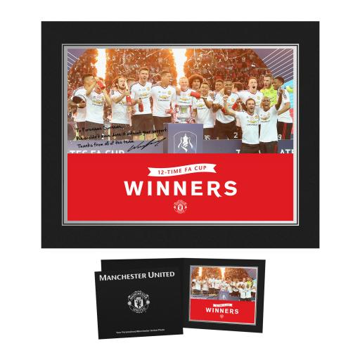 Official Personalised Manchester United FC EFL Cup Winners 2017 Photo Folder