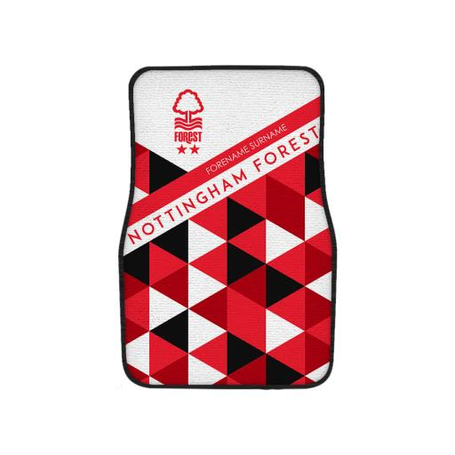 Nottingham Forest FC Patterned Front Car Mat
