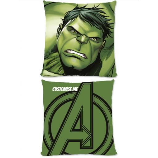 Marvel Avengers Assemble The Hulk Large Fiber Cushion
