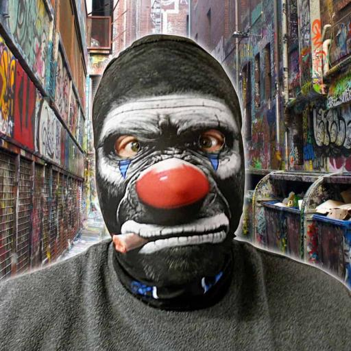 Cigar Monkey Mask - Light Weight- Breathable- Great For Halloween & Parties
