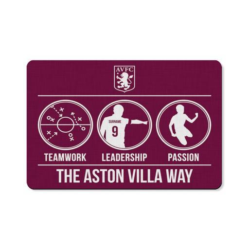 Aston Villa FC Way Floor Mat