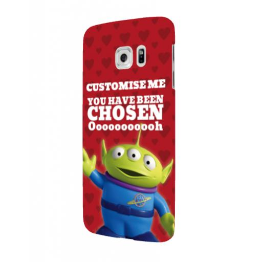 Disney Toy Story Valentines Alien You Have Been Chosen Samsung Galaxy S6 Clip Case