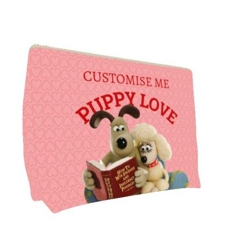 Wallace And Gromit Puppy Love Large Wash Bag