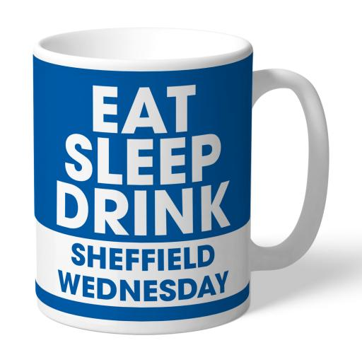 Sheffield Wednesday FC Eat Sleep Drink Mug