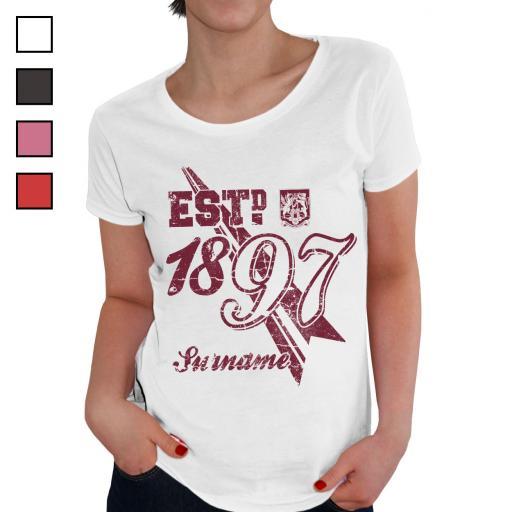 Northampton Town FC Ladies Established T-Shirt