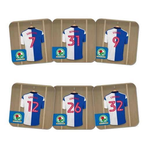 Blackburn Rovers FC Dressing Room Coasters