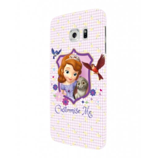 Disney First Sofia And Clover Samsung Galaxy S7 Edge Clip Case