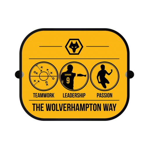 Wolves Way Car Sunshade