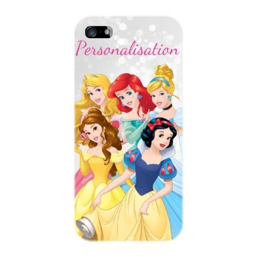 Disney Princess Group Scene iPhone 5 /5S / 5SE Clip Case