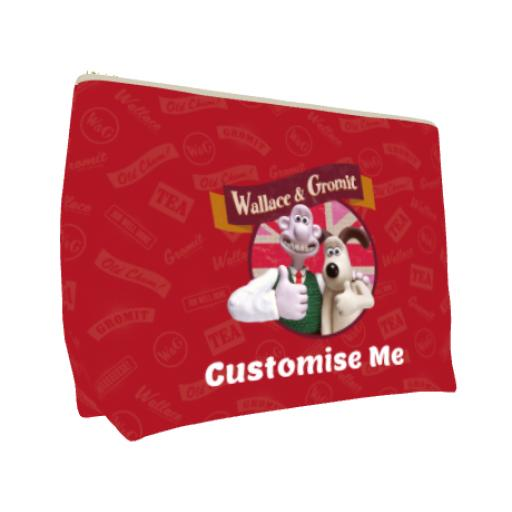 Aardman Wallace And Gromit Thumbs Up Large Wash Bag