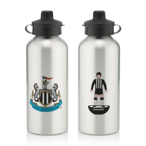 Newcastle United FC Player Figure Water Bottle