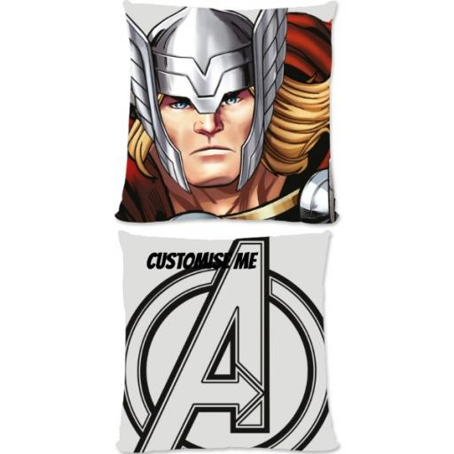 Marvel Avengers Assemble Thor Small Fiber Cushion