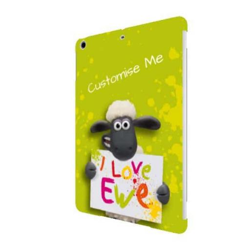 Aardman Shaun The Sheep Valentines Print iPad Air Clip Case