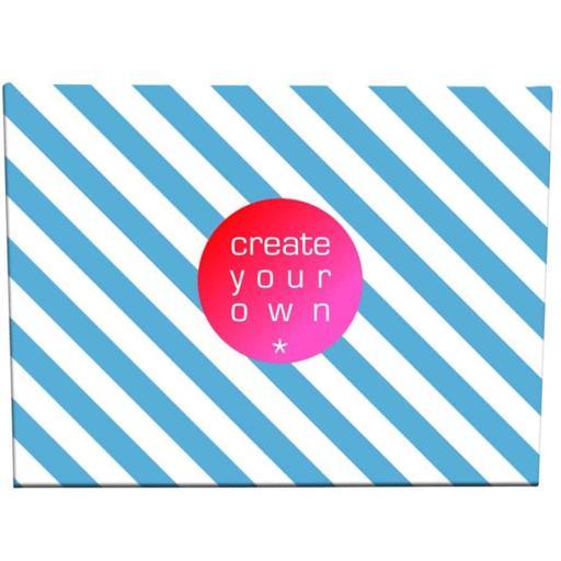 Create Your OwnCanvas - 18mm Frame - Small - 300gsm Canvas Textile - 40cm x 30cm
