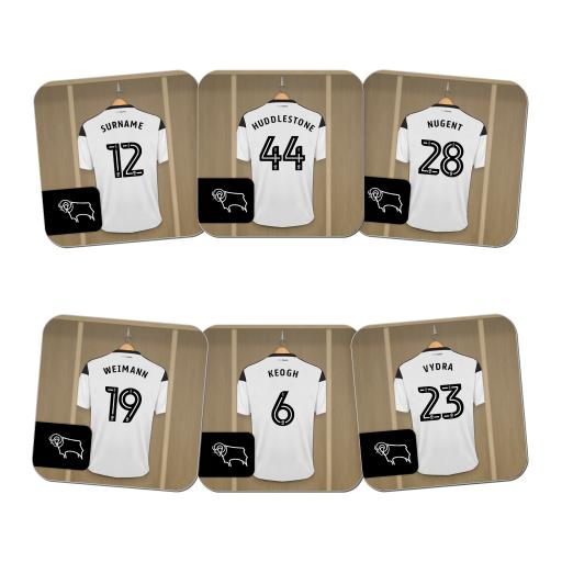 Derby County Dressing Room Coasters