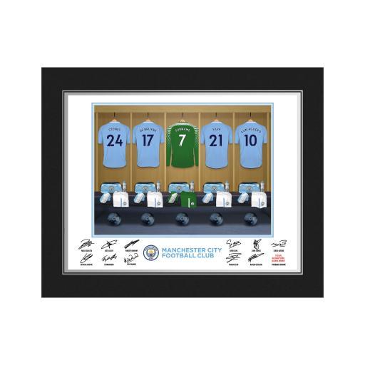 MCFC Goalkeeper Dressing Room Photo Folder