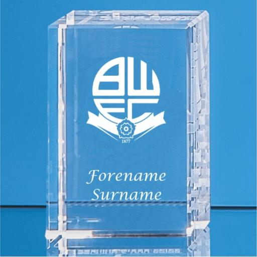 Bolton Wanderers FC Crystal Rectangle
