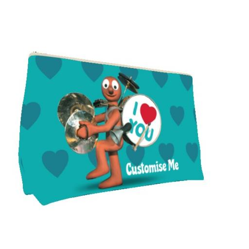 Aardman Morph 'I Love You' Small Wash Bag