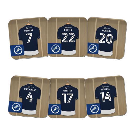 Millwall FC Dressing Room Coasters