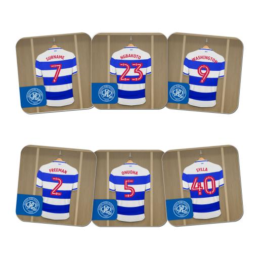Queens Park Rangers FC Dressing Room Coasters