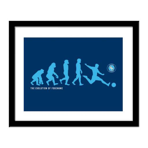 Wycombe Wanderers Evolution Print