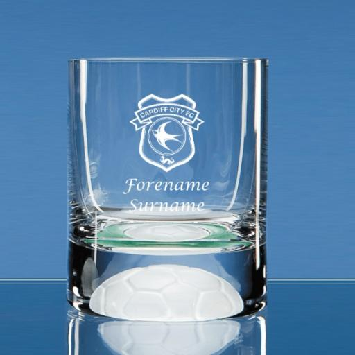 Cardiff City FC Crest Ball Base Tumbler