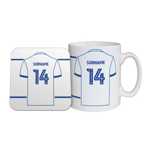 Bury FC Shirt Mug & Coaster Set