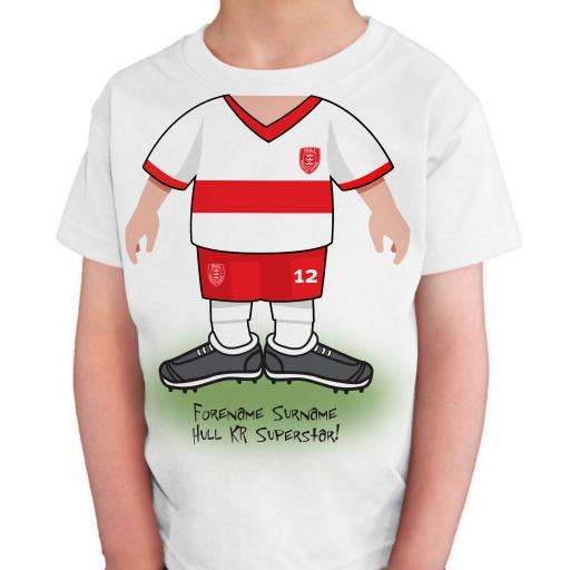 Hull Kingston Rovers Kids Use Your Head T-Shirt