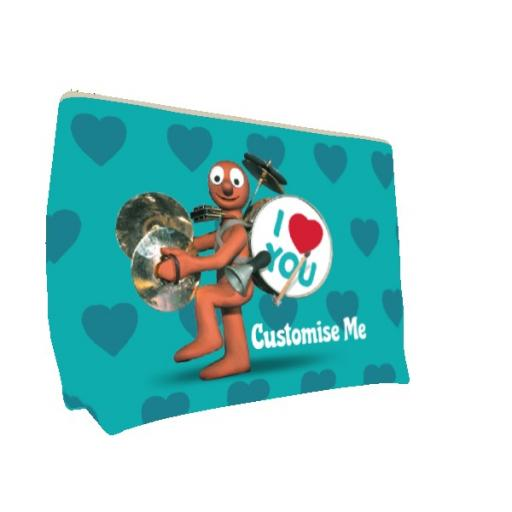 Aardman Morph 'I Love You' Large Wash Bag