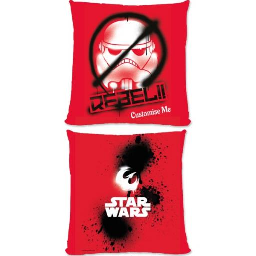 Star Wars Rebels Rebel Large Fibre Cushion