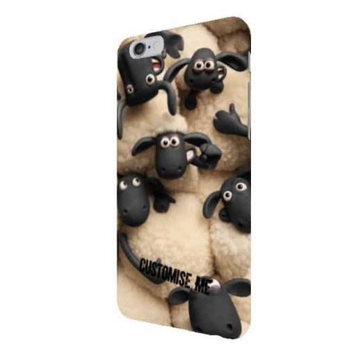 "Aardman Shaun The Sheep ""Join The Flock"" iPhone 6 and 6S+ Clip Case"