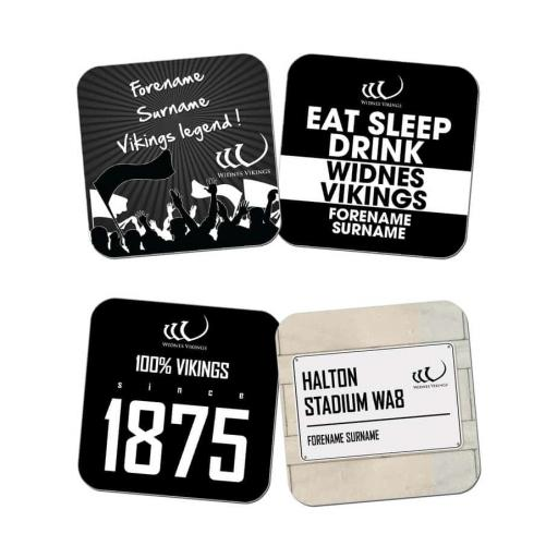 Widnes Vikings Coasters