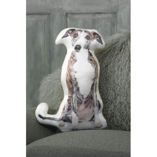 Greyhound Shaped Cushion Perfect Gift For Dog Lovers