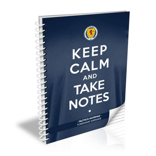 Scotland Keep Calm Notebook
