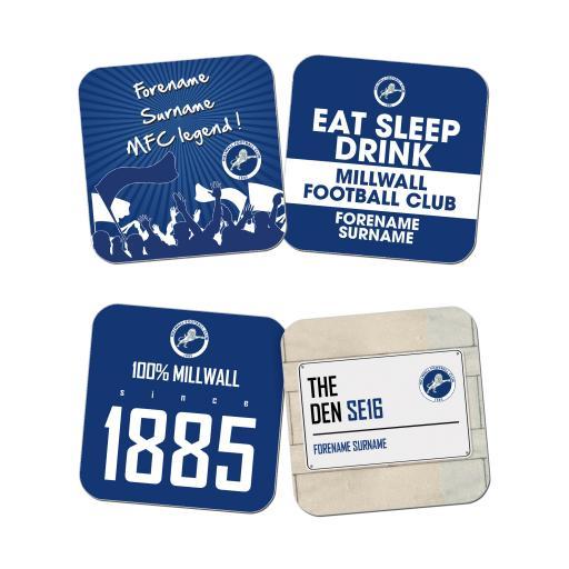 Millwall FC Coasters