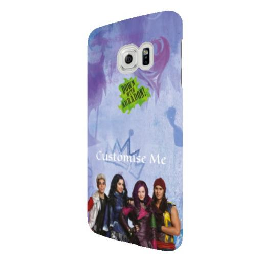 Disney The Descendants Group Samsung Galaxy S6 Edge Clip Case