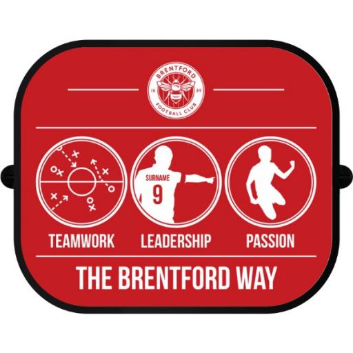 Brentford FC Way Car Sunshade