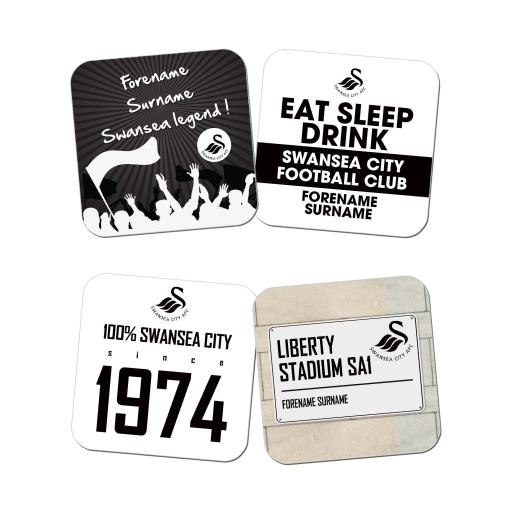 Swansea City AFC Coasters