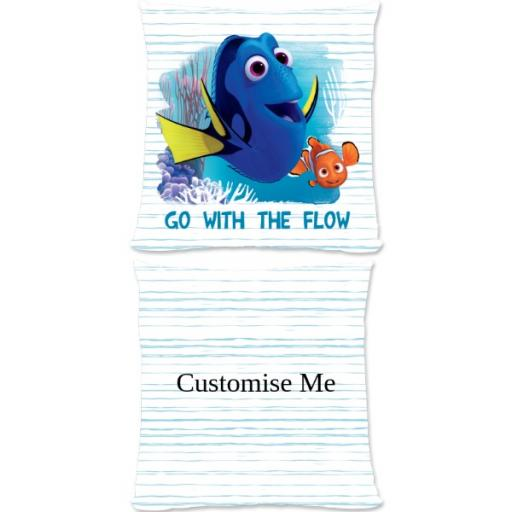 Disney Finding Dory 'Go With The Flow' Small Fiber Cushion