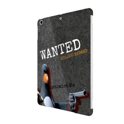 Aardman Wallace And Gromit Feathers WANTED iPad Air Clip Case
