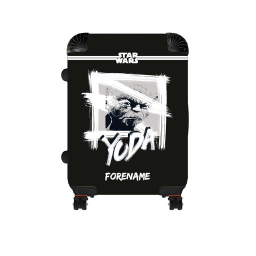 Star Wars Yoda Paint Large Suitcase