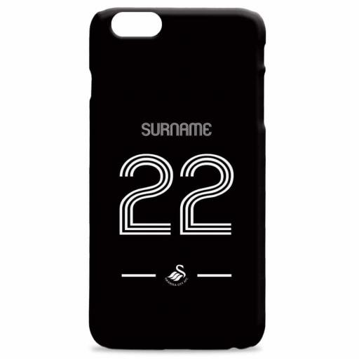Swansea City AFC Retro Shirt Hard Back Phone Case